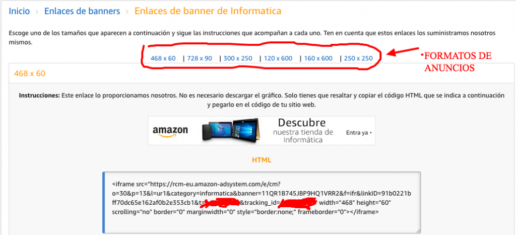 Sistema de Afiliado de Amazon